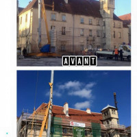 Restauration de la couverture 24 place nationale