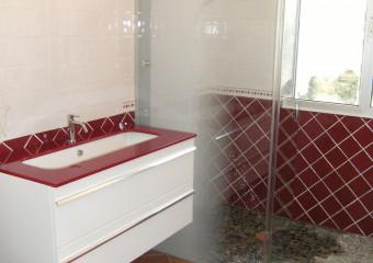 Réfection complète d'une salle de bains à DOLE