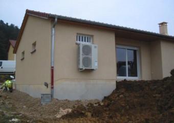 Installation d'une climatisation dans un pavillon
