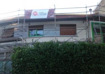 Réfection d'une toiture à Besançon
