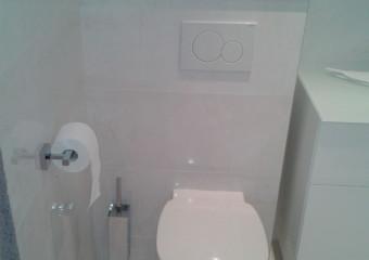 Réalisation d'un WC suspendu